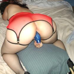 My room mate's ass - Lucia